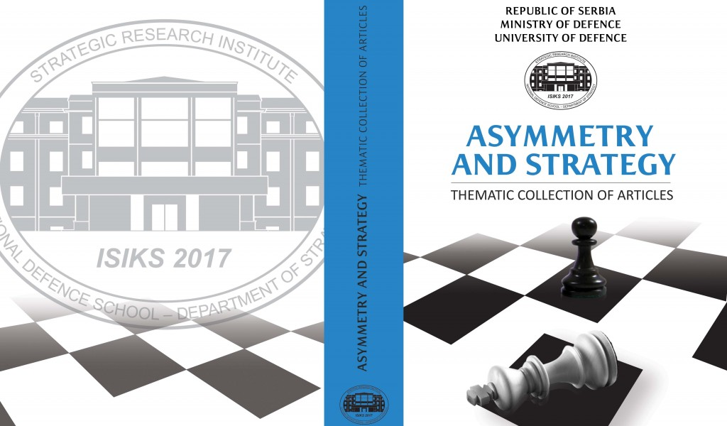 Promotion of the International Thematic Collection of articles Asymmetry and strategy was held today at Strategic Research Institute