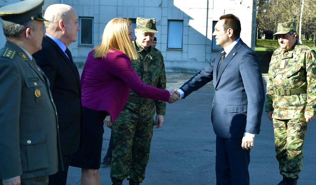 Minister of Defense visited the Strategic Research Institute