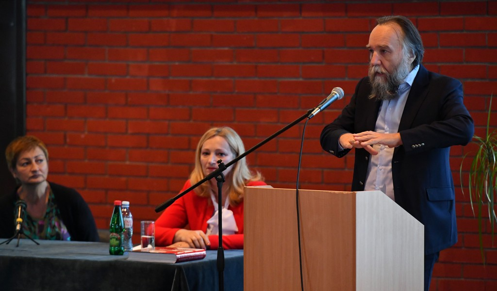 Lecture by Professor Dr Alexander Dugin at the University of Defense
