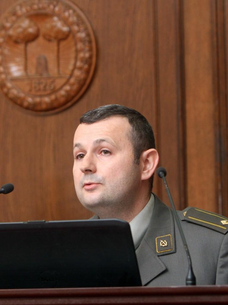 Lieutenant Colonel Dalibor Denda PhD