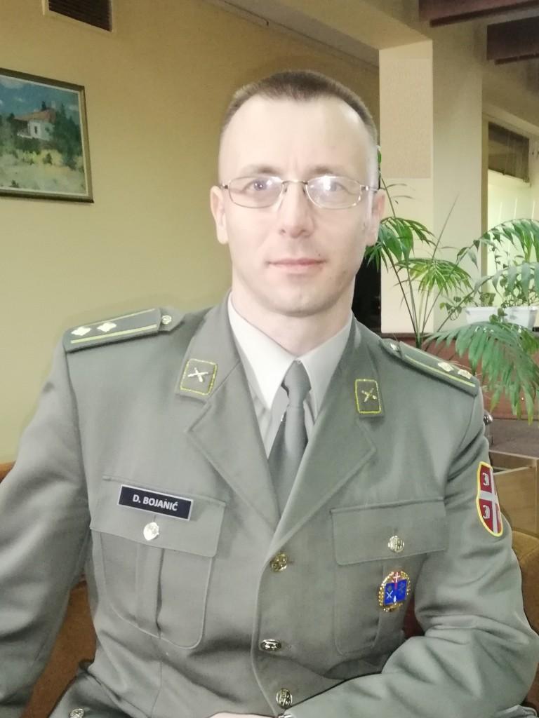 Lieutenant Colonel Dragan Bojanić MA