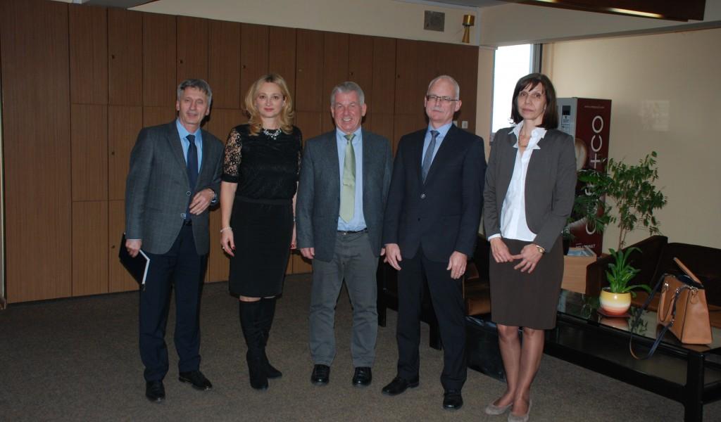 Посета делегације Савезне Републике Немачке Институту за стратегијска истраживања