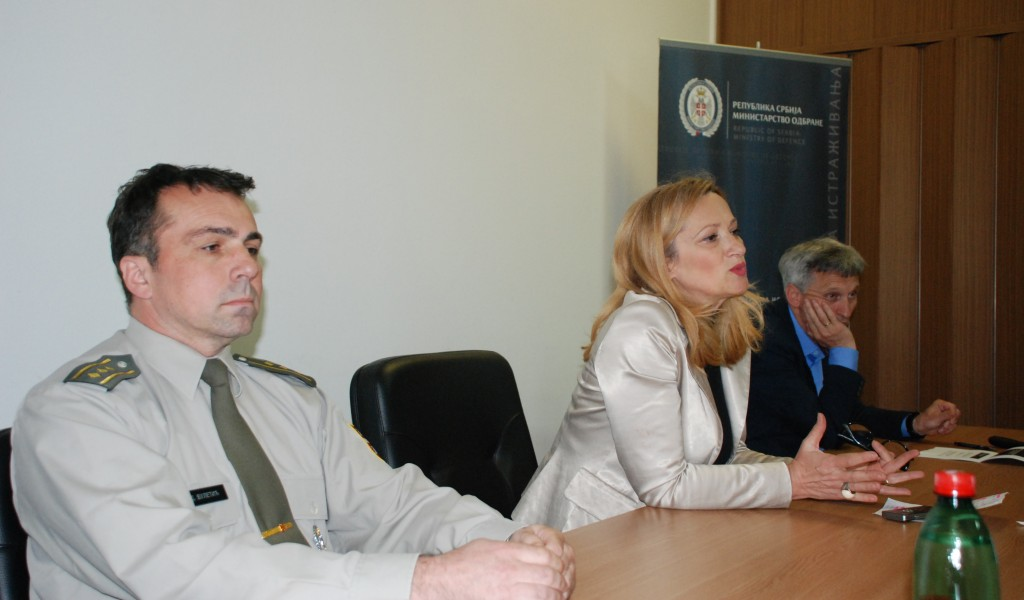 The Students of the Faculty of Security studies have visited Strategic Research Institute