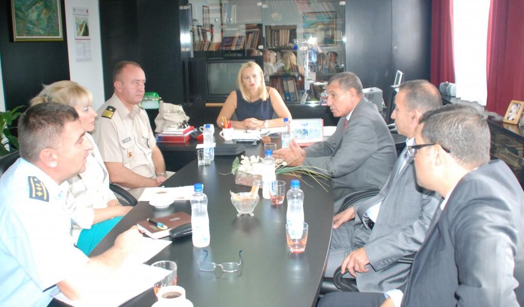 Посета делегације Министарства одбране Алжира Институту за стратегијска истраживања и Војном архиву