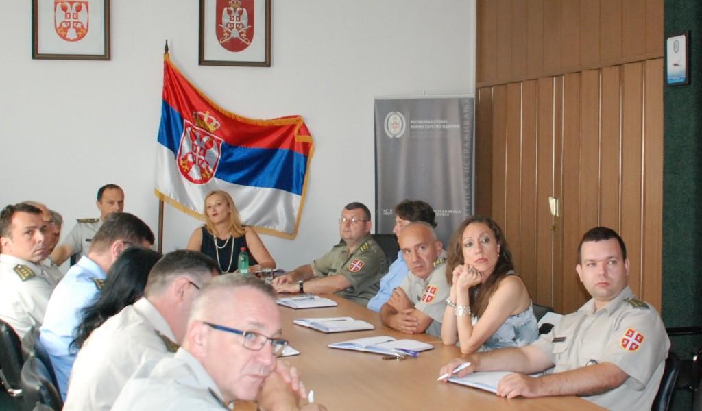 Poseta Rektora Univerziteta odbrane u Beogradu Institutu za strategijska istraživanja