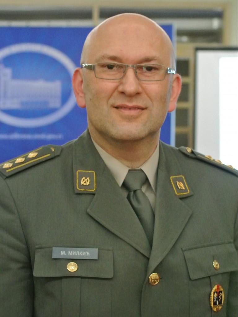 пуковник др Миљан Милкић