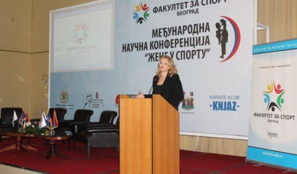 The participation of the Director of for Strategic Research Institute at the International Scientific Conference Women in Sport held in Arandjelovac