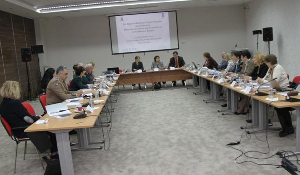 Учешће представника Министарства одбране на осмом регионалном састанку представника ца механизама родне равноправности земаља западног Балкана