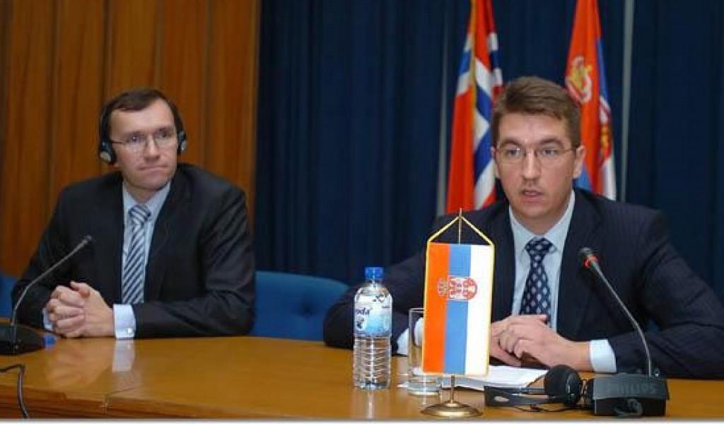 Предавање државног секретара Краљевине Норвешке Барта Епсена Еидеа