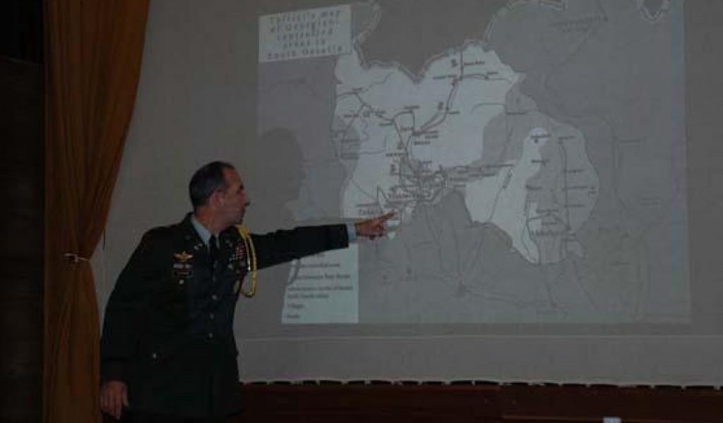 Predavanje izaslanika odbrane SAD o američkom viđenju krize u regionu Kavkaza