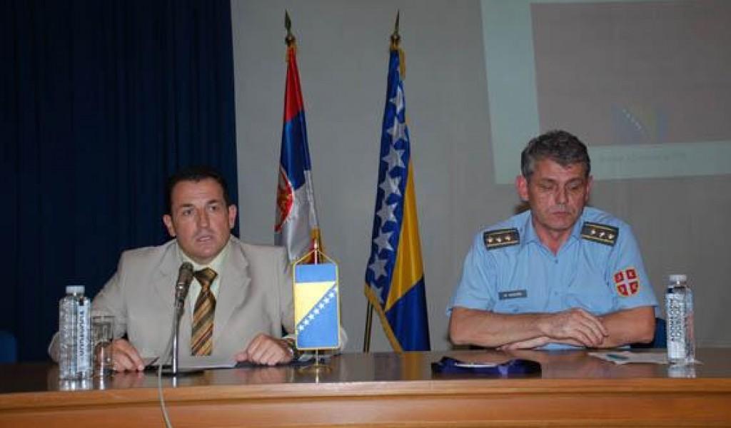 Предавање министра одбране БиХ др Селмa Цикотића на тему Међународни аспекти безбедности Босне и Херцеговине