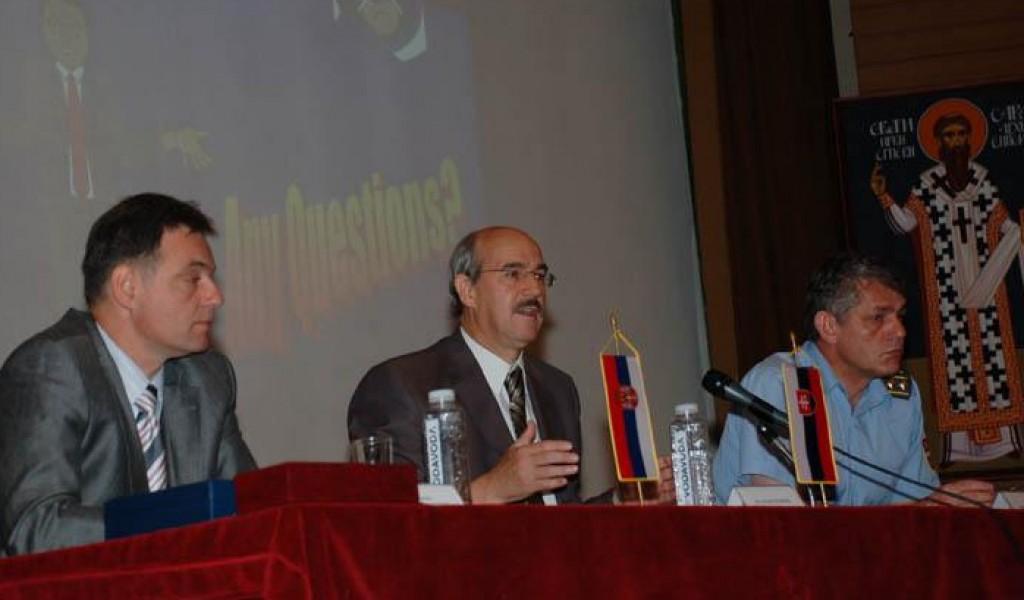 Предавање амбасадора Игора Фурдика о искуствима Словачке у Партнерству за мир