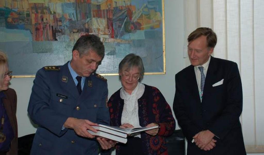 Ен Олдис из Групе за напредна истраживања и процене ARAG Војне акадeмије Велике Британије у ИСИ 28 новембар 2007