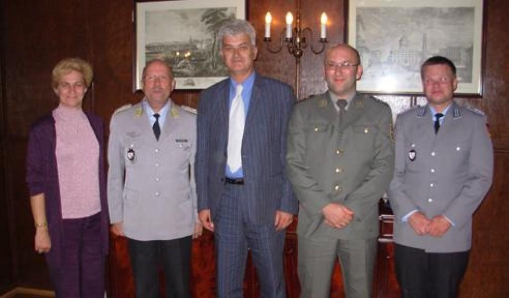 Делегација ИСИ у посети Служби за војноисторијска истраживања Бундесвера MGFA