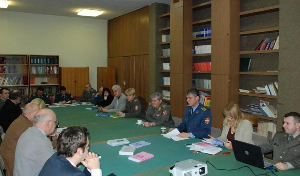 Predstavnici Instituta za uporedno pravo u poseti Institutu za strategijska istraživanja