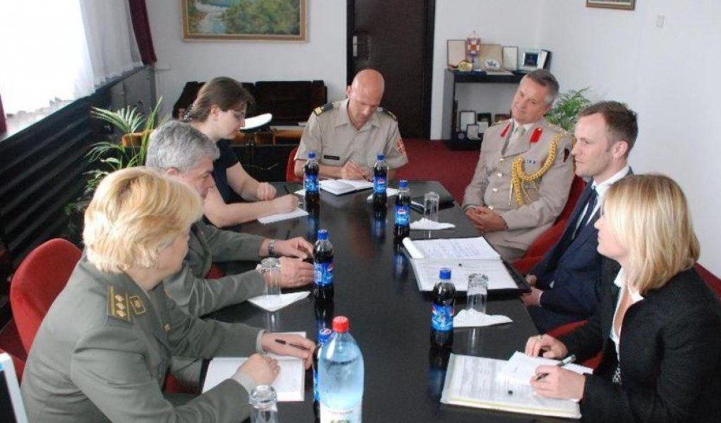 The British Ministry of Defense s Delegation Visited the SRI