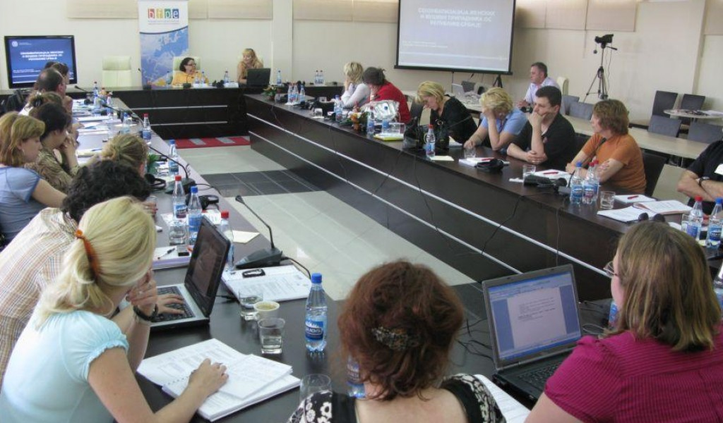 PhD Jovanka Saranovic Gave a Lecture at the Seminar Implementation of the UN SC 1325 Resolution in Serbia