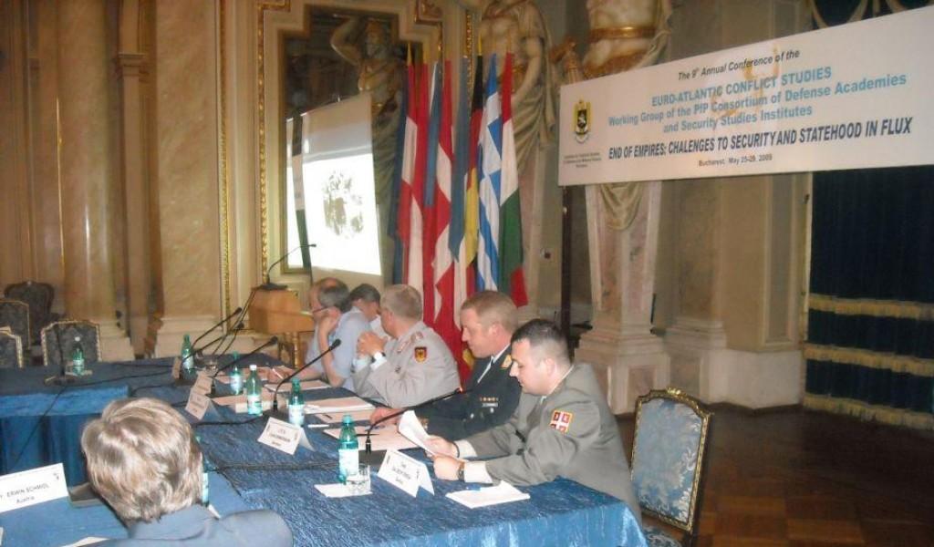 Истраживач мр Далибор Денда на IX годишњој конференцији Евро Атлантске радне групе за студије конфликта