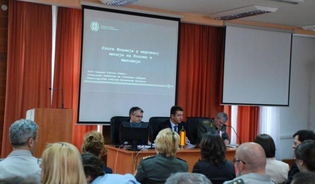 Генерални секретар за политику одбране МО Шпаније одржао предавање