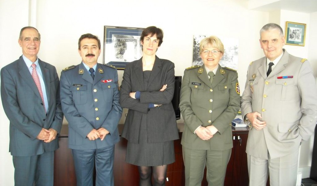 The SRI delegation visited the Military History Research Institute of Bundeswehr MGFA