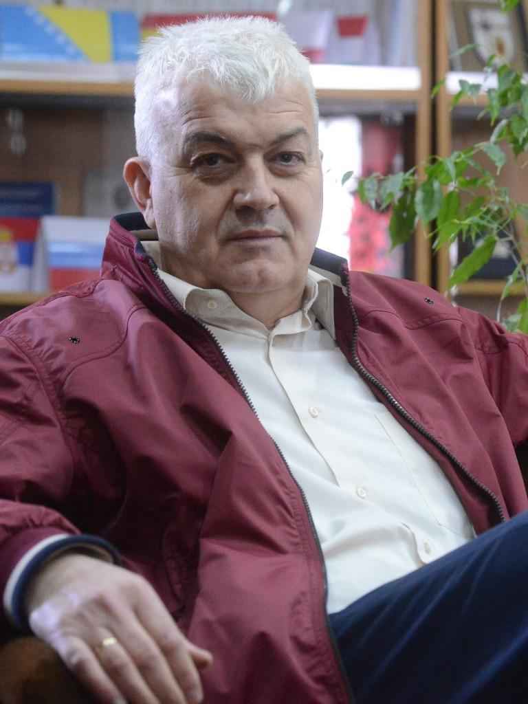др Милан Терзић начелник Одељења за војну историју