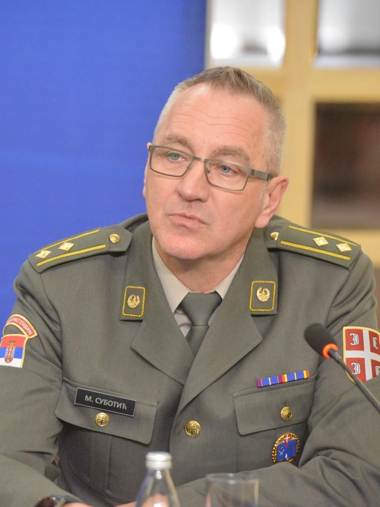 potpukovnik dr sc Milovan Subotić