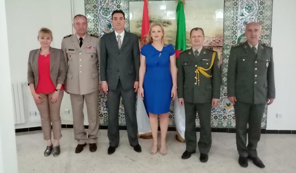 Poseta delegacije Instituta za strategijska istraživanja i Vojnog arhiva DNR Alžiru