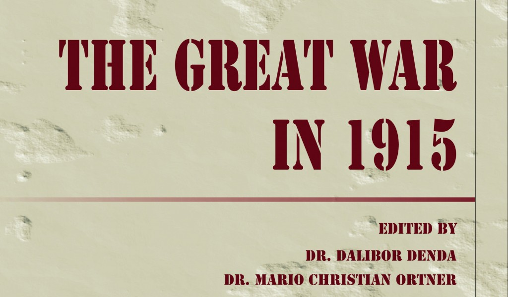 Publishing of Collection of Articles The Great War in 1915