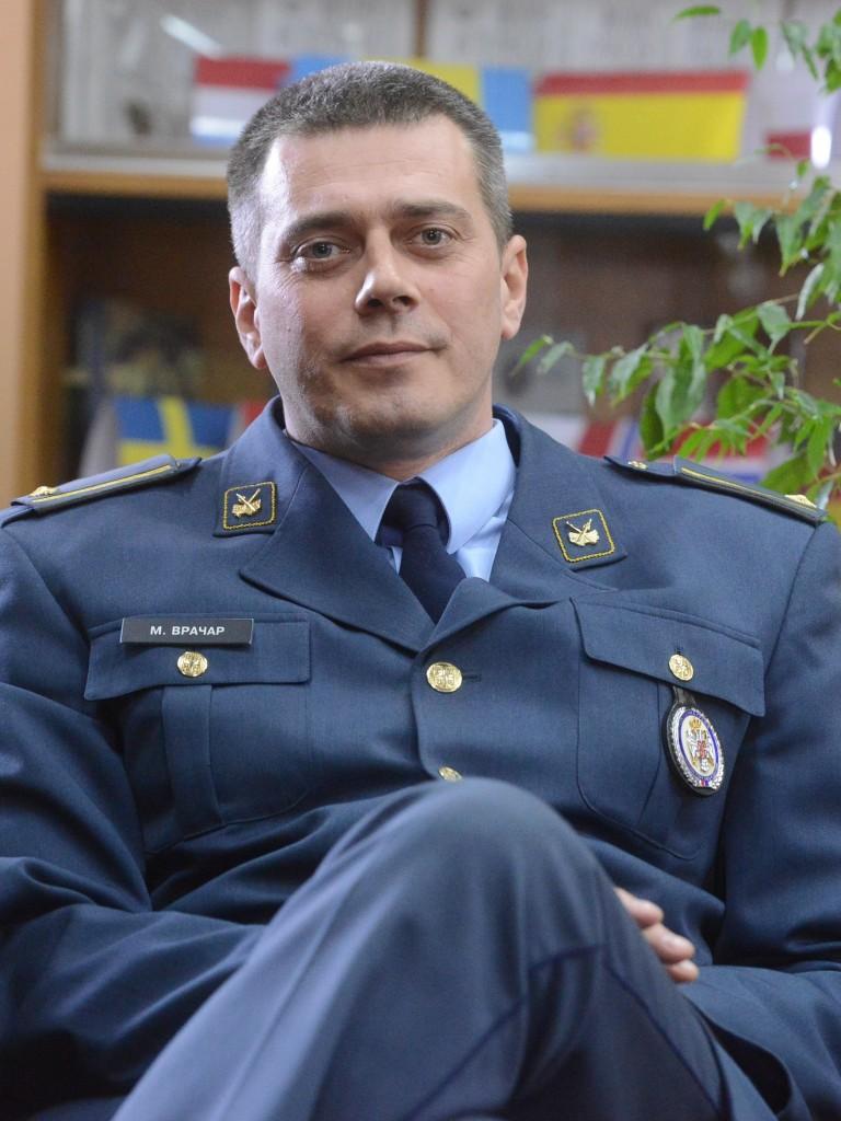 Lieutenant Colonel Milinko Vračar MA Sci