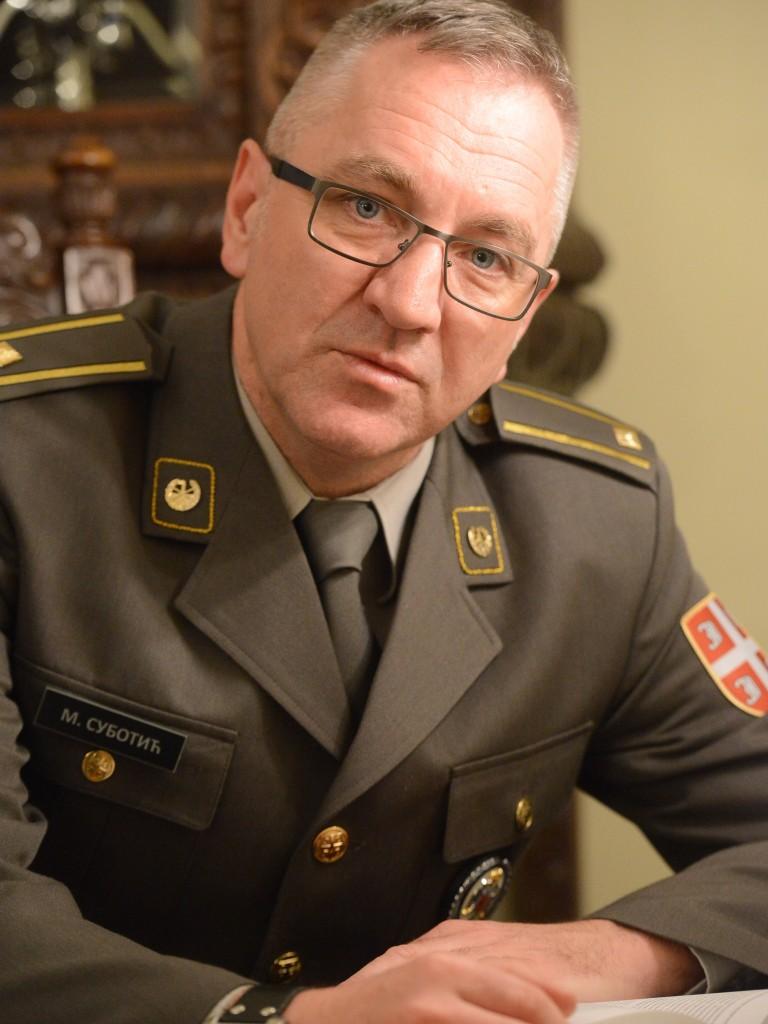 потпуковник др сц Милован Суботић