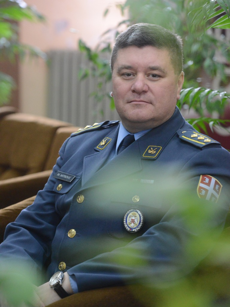 Colonel Miroslav Mitrović PhD