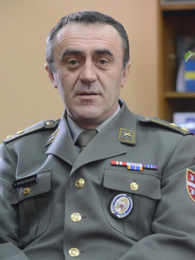 потпуковник мр Бранислав Милосављевић