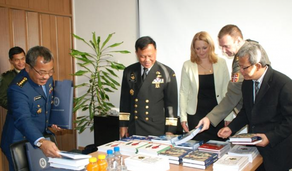 Strategic Research Institute visited by the delegation of the University of Defense of Indonesia