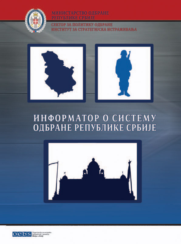 Miroslav Mitrović PhD Milan S Milutinović Handbook on Defence System of the Republic of Serbia