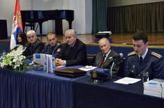 "Promotion of collection of papers ""One hundred years of Serbian Air Force"""