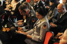"International conference ""Gender equality in the defence system - achievements and perspectives"" opened"