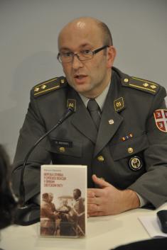 Colonel Miljan Milkić, PhD