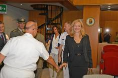 Радна посета Војном центру за стратегијска истраживања у Риму
