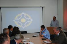 Предавање Божидара Кнежевића на Институту за стратегијска истраживања