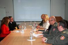 Посета директора Центра за војну историју и друштвене науке  Бундесфера Институту за стратегијска истраживања