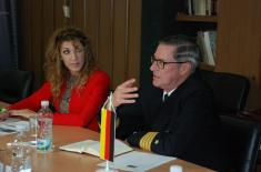 Visit of the Director of the Center for Military History and Social Sciences of Bundeswehr to the Strategic Research Institute