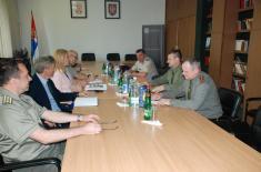 Посета делегације ОС Републике Белорусије Институту за стратегијска истраживања
