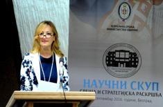 Associate Professor Јovanka Šaranović, PhD, Director of the Strategic Research Institute
