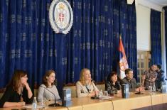 """Promocija Tematskog zbornika """"Rodna ravnopravnost u sistemu odbrane - dometi i perspektive"""""""