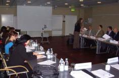 """Истраживачи ИСИ на семинару """"Демократска контрола оружаних снага"""""""