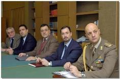 Делегација Историјског одељења ГШ Копнене војске Републике Италије у ИСИ