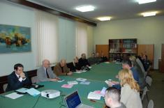 Представници Института за упоредно право у посети Институту за стратегијска истраживања
