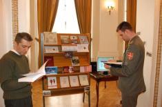 Штанд Института за стратегијска истраживања и Војног архива на додели Годишњих награда за најбоље научне радове