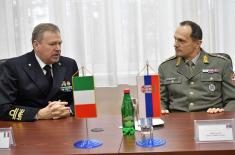 Visit of the delegation of the Military Center for Strategic Studies of the Republic of Italy to the Institute for Strategic Research