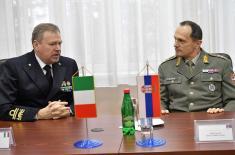 Посета делегације Војног центра за стратегијске студије Републике Италије Институту за стратегијска истраживања